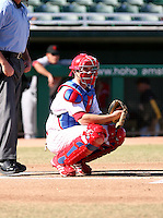 Lou Marson / Mesa Solar Sox 2008 Arizona Fall League..Photo by:  Bill Mitchell/Four Seam Images