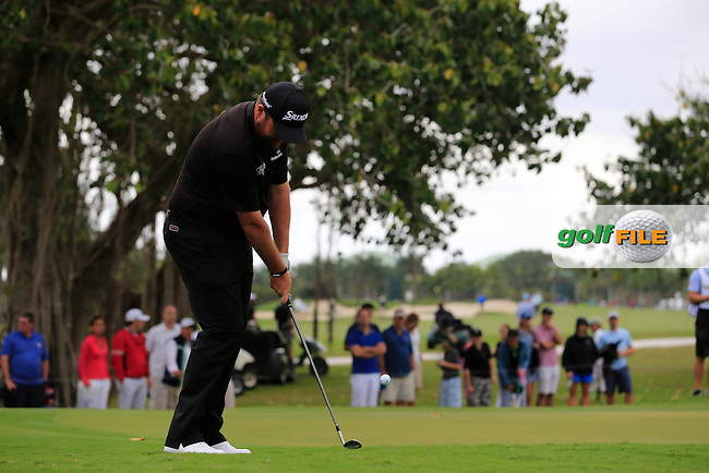 Shane Lowry (IRL) during the final round of the WGC Cadillac Championship, Blue Monster, Trump National Doral, Doral, Florida, USA<br /> Picture: Fran Caffrey / Golffile