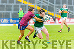 Hannah O'Donoghue Kerry powers past Lucy Power Westmeath on her way to scoring Kerry goal during their All Ireland SFC game in Fitzgerald Stadium on Sunday