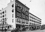 Waterbury Hotel, West Main Street, June 1936.
