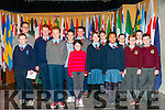 WW1 Remenbrance Day: Pupils from Dromclough NS, Coolard NS, Ballyduff Central NS, Knockanure NS, Listowel Convent Primary, Scoil Realta Na Madna & Tarbert Comprensive schools who read out the list of the North Kery people who died in WW1 at the remembrance ceremony held in St.John Arts Centre, Listowel on Sunday last.