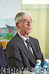 Alan Dukes at the launch of plans for a Global Pharmacutical centre of excellence in Tralee at Centrepoint on Friday