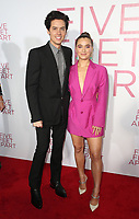7 March 2019 - Los Angeles, California - Cole Sprouse, Haley Lu Richardson. The Premiere Of Lionsgate's &quot;Five Feet Apart&quot; held at Fox Bruin Theatre. <br /> CAP/ADM/FS<br /> &copy;FS/ADM/Capital Pictures