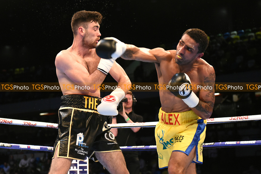 Joe Pigford defeats Aarron Morgan during a Boxing Show at the Copper Box Arena on 20th May 2017