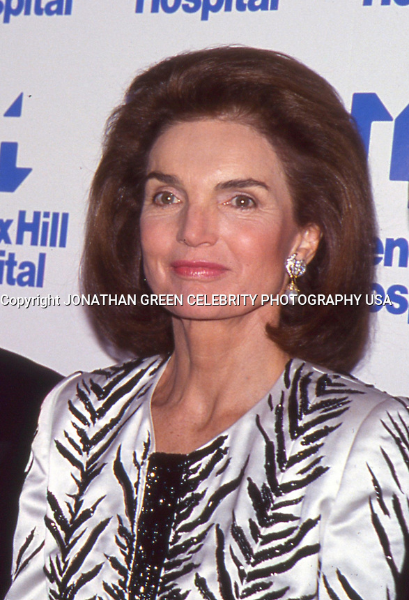 Jacqueline Kennedy Onassis 1992 NYC by<br />