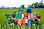 Under 6's enjoying the Na Gael Summer Camp on Tuesday