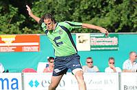 KAATSEN: ARUM: Kaatsvereniging Willem Westra, 29-07-2012, Heren Hoofdklasse Vrije formatie, Martijn Olijnsma (Koning), ©foto Martin de Jong