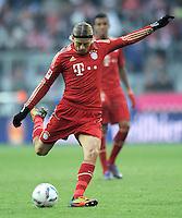 FUSSBALL   1. BUNDESLIGA  SAISON 2011/2012   21. Spieltag FC Bayern Muenchen - 1. FC Kaiserslautern       11.02.2012 Anatoliy Tymoshchuk (FC Bayern Muenchen)