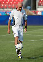 18 July 2012: Colorado Rapids forward Conor Casey #9 takes warm-up during an MLS game between the Colorado Rapids and Toronto FC at BMO Field in Toronto, Ontario..Toronto FC won 2-1..