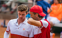 The Hague, Netherlands, 11 June, 2017, Tennis, Play-Offs Competition, Antal van der Duim/Kretschmer, Egeria Alta<br /> Photo: Henk Koster/tennisimages.com