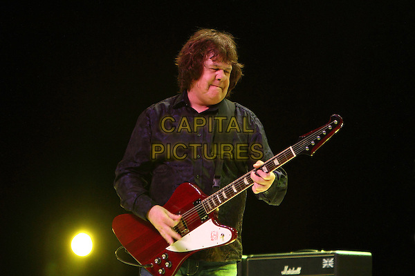 Gary Moore.Concert in Moscow, Russia..April 18th, 2010.on stage in concert live gig performance performing music half length black shirt  guitar   .CAP/PER/SB.© SB/Persona/CapitalPictures