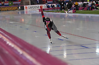 SPEEDSKATING: HAMAR: Vikingskipet, 29-02-2020, ISU World Speed Skating Championships, Sprint, 1000m Ladies, Heather Mclean (CAN), ©photo Martin de Jong