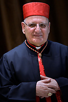 Cardinal Louis Raphaël I Sako, Pope Francis leads a consistory for the creation of five new cardinals  at St Peter's basilica in Vatican on  June 28, 2018
