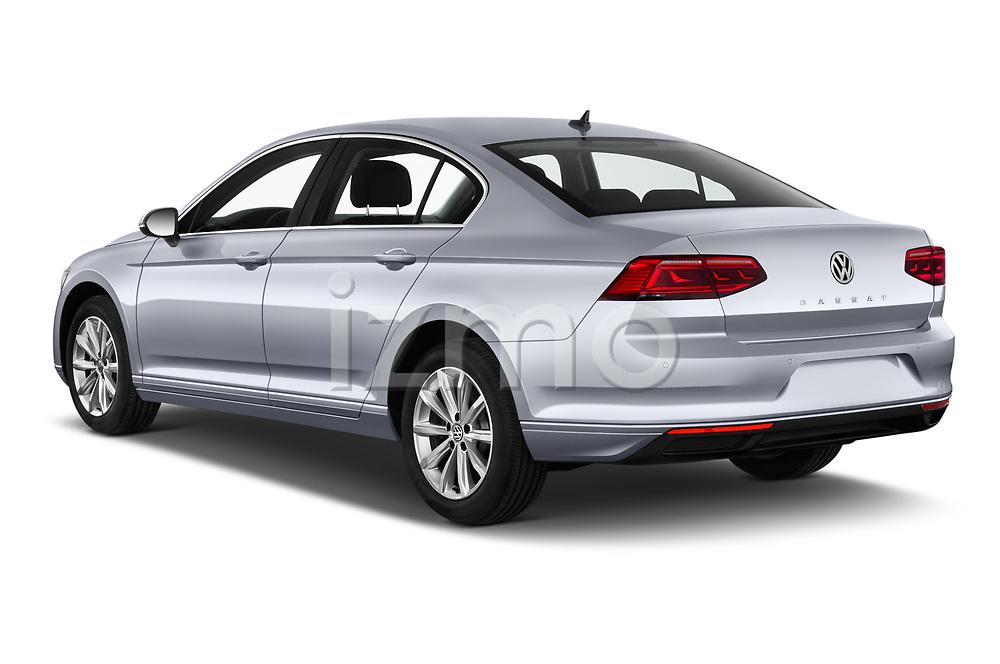 Car pictures of rear three quarter view of a 2020 Volkswagen Passat Style Business 4 Door Sedan angular rear