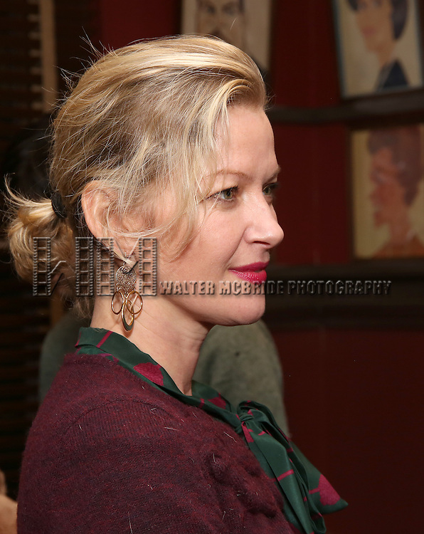 Gretchen Mol attends the unveiling of the Kenneth Lonergan caricature at Sardi's on February 17, 2017 in New York City.