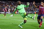 UEFA Champions League 2013/2014.<br /> FC Barcelona vs AFC Ajax: 4-0 - Game: 1.<br /> Vermeer vs Neymar.