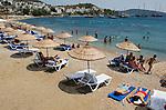 Beach at  Bodrum, Turkey