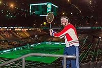 Rotterdam, Netherlands, 11 februari, 2018, Ahoy, Tennis, ABNAMROWTT, Film Borg vs McEnroe, Bjorn Borg supporter<br /> Photo: Henk Koster/tennisimages.com