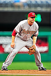 15 August 2010: Arizona Diamondbacks third baseman Mark Reynolds in action against the Washington Nationals at Nationals Park in Washington, DC. The Nationals defeated the Diamondbacks 5-3 to take the rubber match of their 3-game series. Mandatory Credit: Ed Wolfstein Photo