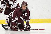 Kevin McNamara (Colgate - 10) - The Harvard University Crimson defeated the visiting Colgate University Raiders 4-2 on Saturday, November 12, 2011, at Bright Hockey Center in Cambridge, Massachusetts.