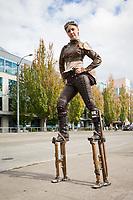 Liz Spain, Steamposium Seattle 2015, Washington State, WA, America, USA.