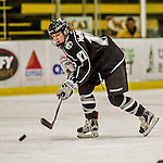 13 November 2015: Providence College Friar Forward Cassidy MacPherson, a Freshman from Oakville, Ontario, in action against the University of Vermont Catamounts at Gutterson Fieldhouse in Burlington, Vermont. The Lady Friars defeated the Lady Cats 4-1 in Hockey East play. Mandatory Credit: Ed Wolfstein Photo *** RAW (NEF) Image File Available ***