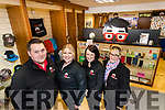 The Brand Geeks in Killorglin, Chris McGillicuddy, Pippa Christie, Louise McGillicuddy and Katie Clifford.