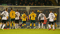 26th December 2019; St Mirren Park, Paisley, Renfrewshire, Scotland; Scottish Premiership Football, St Mirren versus Celtic; Cammy Macpherson pulls a goal back for St Mirren in the 89th minute of the match his free kick beating  Fraser Forster of Celtic, making it 2-1  - Editorial Use