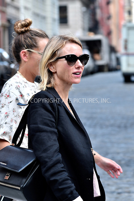 www.acepixs.com<br /> <br /> September 16 2016, New York City<br /> <br /> Actress Naomi Watts was out in Tribeca on September 16 2016 in New York City<br /> <br /> By Line: Curtis Means/ACE Pictures<br /> <br /> <br /> ACE Pictures Inc<br /> Tel: 6467670430<br /> Email: info@acepixs.com<br /> www.acepixs.com