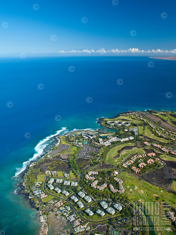 Aerial of Waikoloa Resort