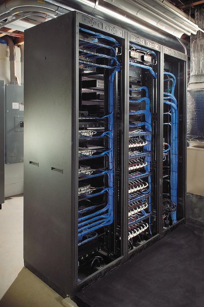 Equipment Room Rack Wiring