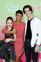 """LOS ANGELES - JAN 25:  Julia Butters, Carly Hughes, Daniel DiMaggio at the """"Zombies 2"""" Screening at the Disney Studios on January 25, 2020 in Burbank, CA"""