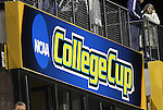 02 December 2011: College Cup signage. The Duke University Blue Devils defeated the Wake Forest University Demon Deacons 4-1 at KSU Soccer Stadium in Kennesaw, Georgia in an NCAA Division I Women's Soccer College Cup semifinal game.