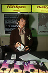 People Express PeopleExpress May 26th 1983 first flight from Gatwick airport London to Newark New Jersey USA.  Gatwick airport.