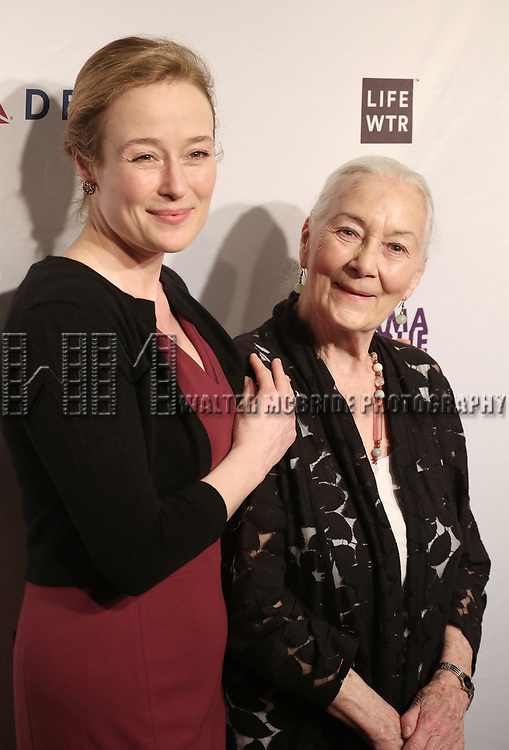 Jennifer Ehle and Rosemary Harris attends the 83rd Annual Drama League Awards Ceremony  at Marriott Marquis Times Square on May 19, 2017 in New York City.