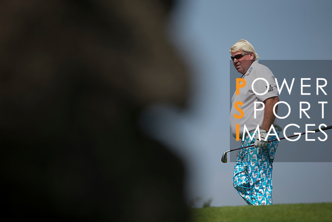John Daly plays during the World Celebrity Pro-Am 2016 Mission Hills China Golf Tournament on 23 October 2016, in Haikou, Hainan province, China. Photo by Victor Fraile / Power Sport Images