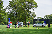 Candie Kung (TPE) watches her tee shot on 17 during Thursday's round 1 of the 2017 KPMG Women's PGA Championship, at Olympia Fields Country Club, Olympia Fields, Illinois. 6/29/2017.<br /> Picture: Golffile | Ken Murray<br /> <br /> <br /> All photo usage must carry mandatory copyright credit (&copy; Golffile | Ken Murray)