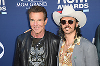 LAS VEGAS, NV - APRIL 7: Dennis Quais and Midlands attend the 54th Annual ACM Awards at the Grand Garden Arena on April 7, 2019 in Las Vegas, Nevada. <br /> CAP/MPIIS<br /> &copy;MPIIS/Capital Pictures