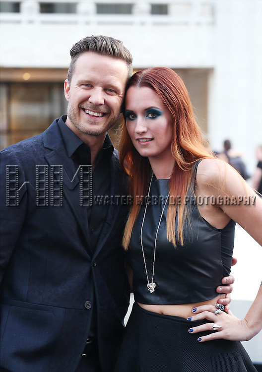 Will Chase and Ingrid Michaelson attends the 'Danny Elfman's Music From The Films Of Tim Burton' - 2015 Lincoln Center Festival Opening Night at Josie Robertson Plaza at Lincoln Center on July 6, 2015 in New York City.