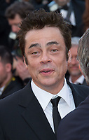 Benicio Del Toro at the 70th Anniversary Gala for the Festival de Cannes, Cannes, France. 23 May 2017<br /> Picture: Paul Smith/Featureflash/SilverHub 0208 004 5359 sales@silverhubmedia.com
