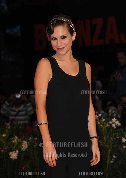Isabella Ragonese at the Vallanzasca premiere during the 67th annual Venice Film Festival..September 6, 2010  Venice, IT.Picture: Anne-Marie Michel / Featureflash