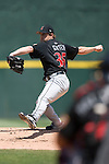 Indianapolis Indians starting pitcher Matt Ginter winds up to deliver the ball to the plate versus the Charlotte Knights at Knights Stadium in Fort Mill, SC, Sunday, August 13, 2006.