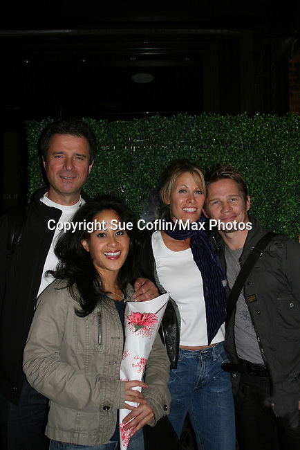 James DePaiva - Veronica Reyes - Jodi Stevens - Jack Noseworthy all star in Under Fire, the musical - a part of the New York Musical Theatre Festival on October 4, 2009 at The Theatre of St. Clements, New York City, New York. (Photo by Sue Coflin/Max Photos)