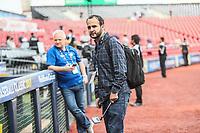 Antonio de La Torre, reportero de deportes en el Imparcial.<br />  Aspectos del partido Mexico vs Italia, durante Cl&aacute;sico Mundial de Beisbol en el Estadio de Charros de Jalisco.<br /> Guadalajara Jalisco a 9 Marzo 2017 <br /> Luis Gutierrez/NortePhoto.com