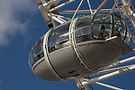 The London Eye ferris wheel, South Bank, London UK