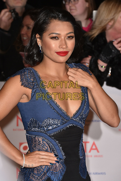 Vanessa White attending the National Television Awards 2018 at The O2 Arena on January 23, 2018 in London, England. <br /> CAP/Phil Loftus<br /> &copy;Phil Loftus/Capital Pictures