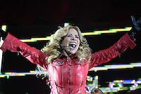 Cantante roquera mexicana Gloria Trevi en concierto.<br /> (BaldemarDeLosLlanos/NortePhoto)