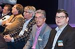 AMERSFOORT - Herman van der Vlis met Peter Duivenvoorde.  Nationaal Golf Congres & Beurs (Het Juiste Spoor) van de NVG.     © Koen Suyk.