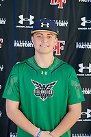 Gage Miller during the Under Armour All-America Tournament powered by Baseball Factory on January 17, 2020 at Sloan Park in Mesa, Arizona.  (Mike Janes/Four Seam Images)