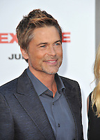 Rob Lowe at the world premiere of his movie &quot;Sex Tape&quot; at the Regency Village Theatre, Westwood.<br /> July 10, 2014  Los Angeles, CA<br /> Picture: Paul Smith / Featureflash